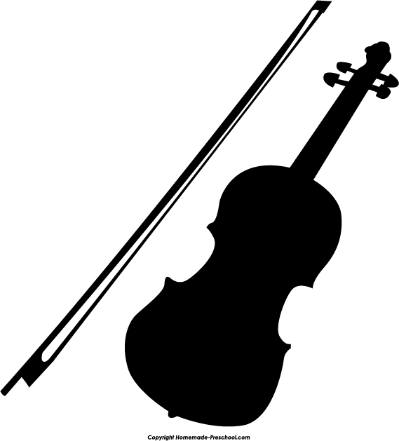 Violin Free Clipart - Clipart Suggest