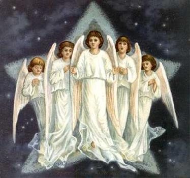 In Christian And Jewishtradition An Entire Hierarchy Of Angels Was