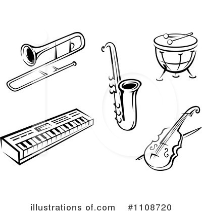 Instruments Clipart  1108720 By Seamartini Graphics   Royalty Free  Rf