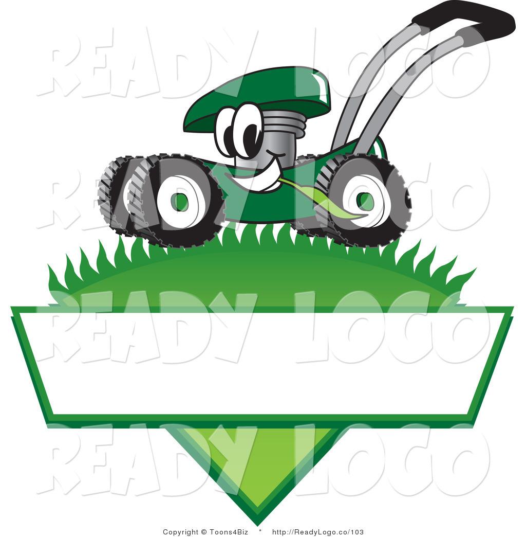 Cartoon Man On Mower : Funny lawn mower clipart suggest