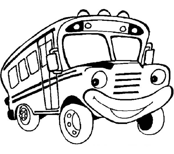 free school bus coloring pages - photo#21