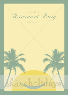 Retirement Invitation Background   Party Clipart   Backgrounds