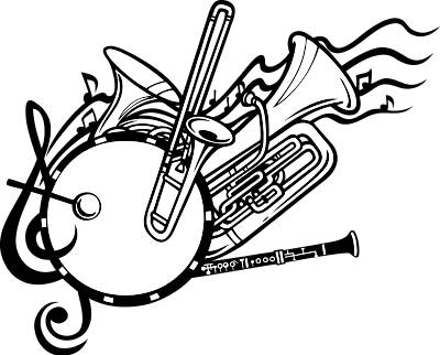 School Band Instruments Clip Art Band Clip Art