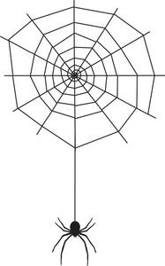 Halloween Spider Clipart - Clipart Kid