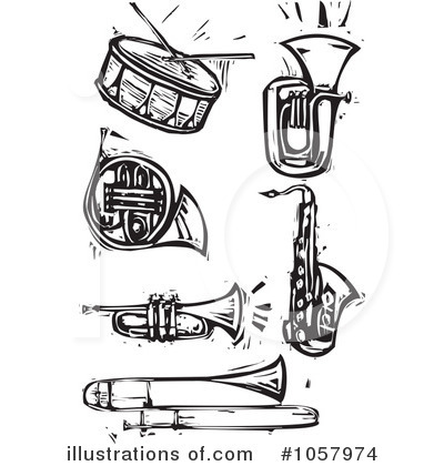Marching Band Clipart Clarinet Band Instruments Clipa...