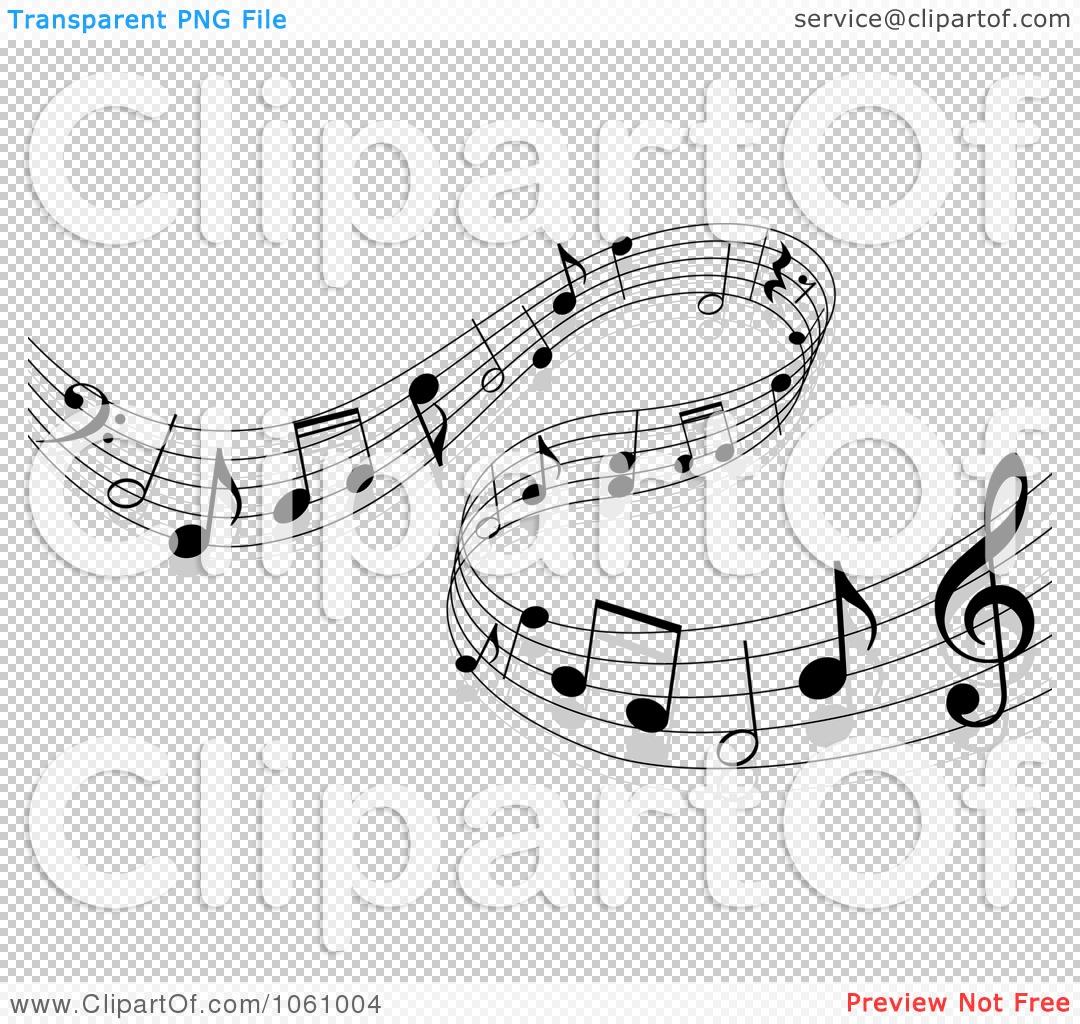 Music Score Transparent Clipart - Clipart Kid