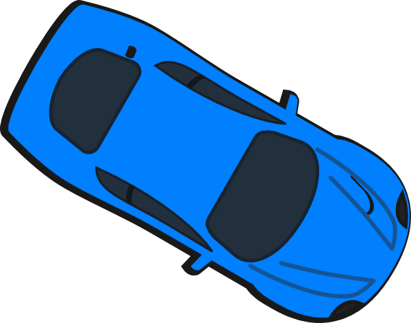 Clipart Blue Rental Car And Key Icon Royalty Free Vector