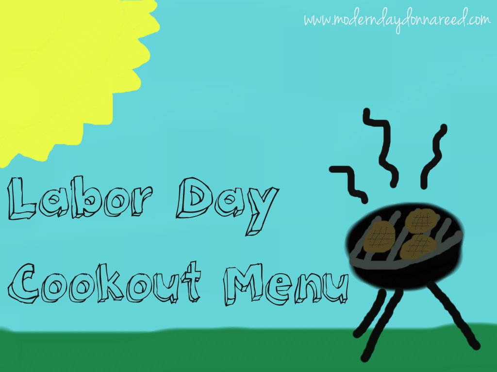 Cookout Border Labor Day Cookout Menu