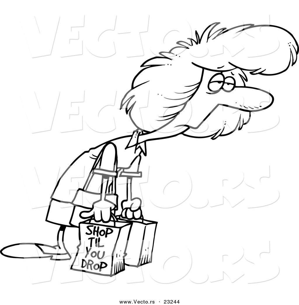 Exhausted teacher clipart