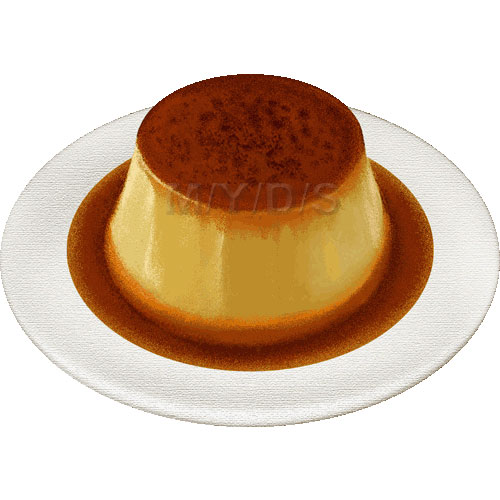 Flan Clipart Picture Large