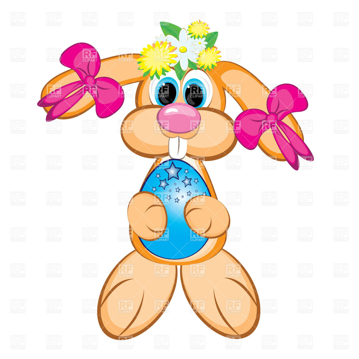 Easter Bunny Free Clipart - Clipart Kid
