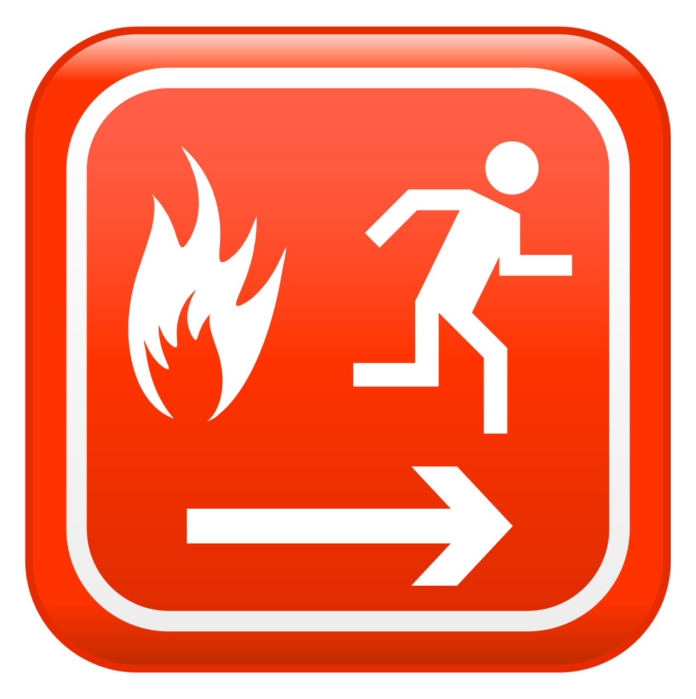 Evacuation plan for business