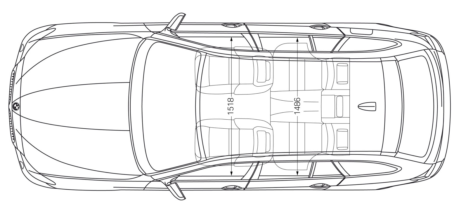 How To Draw A Car Topview