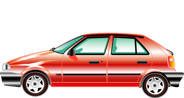 Red Car Side View Clipart - Clipart Kid