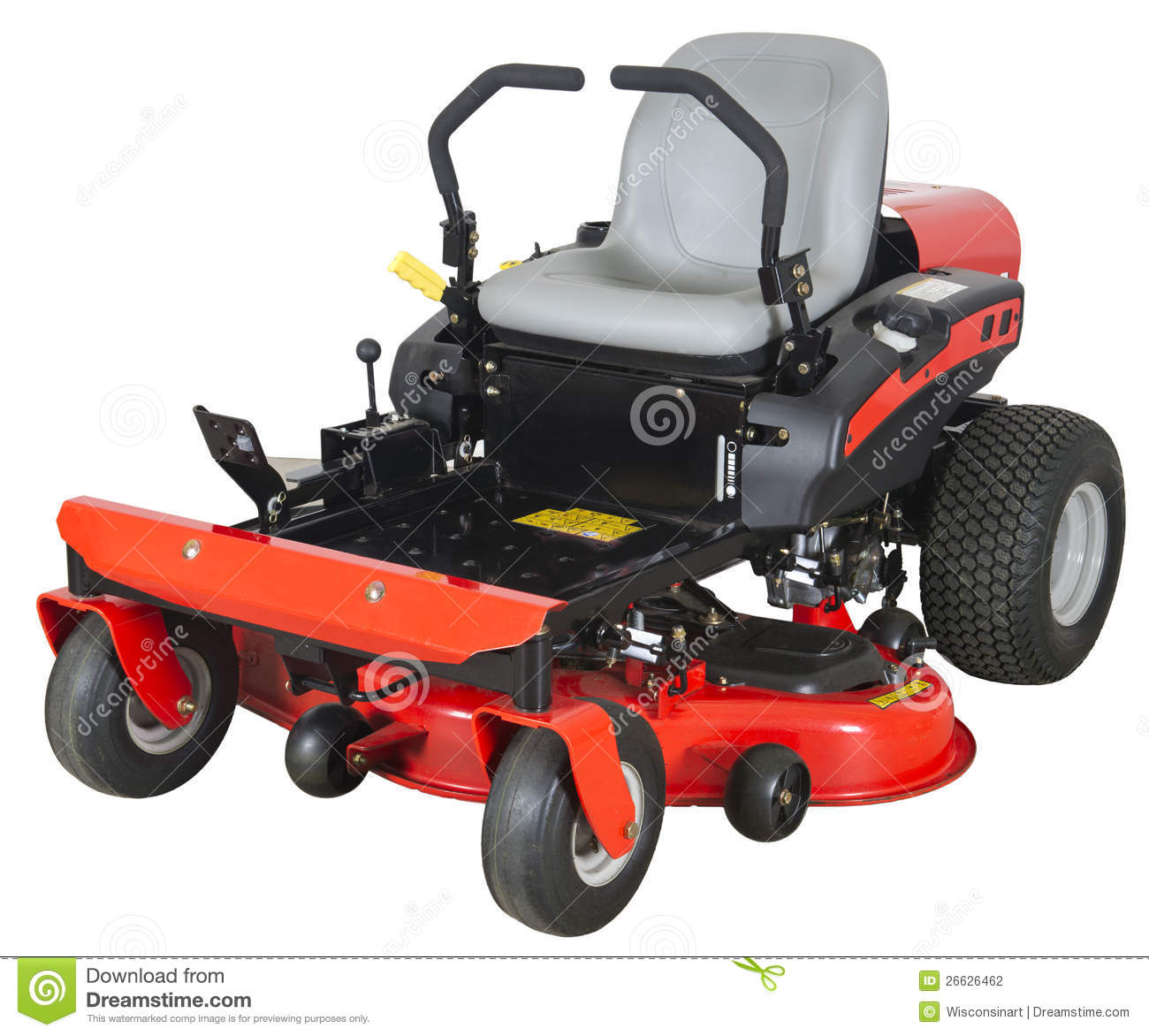 Zero Turn Lawn Mower Silhouette Pictures To Pin On