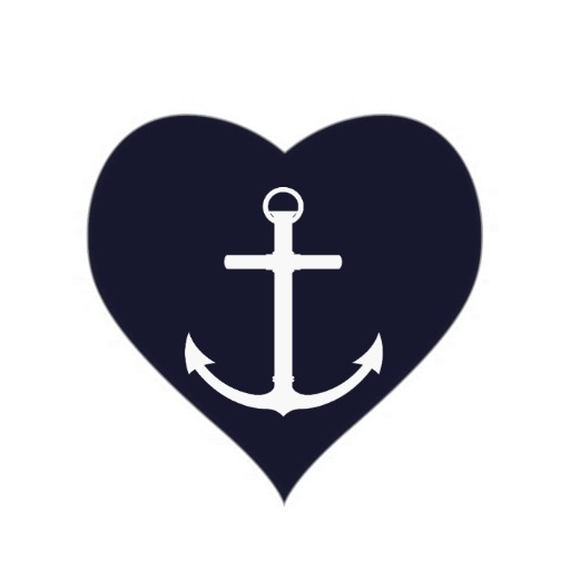 Anchor With Heart Clipart - Clipart Kid