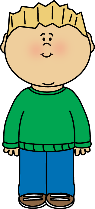 Boy Wearing A Sweater Clip Art   Boy Wearing A Green Sweater