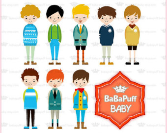 Boys Clothes Clipart School Boys Clip Art