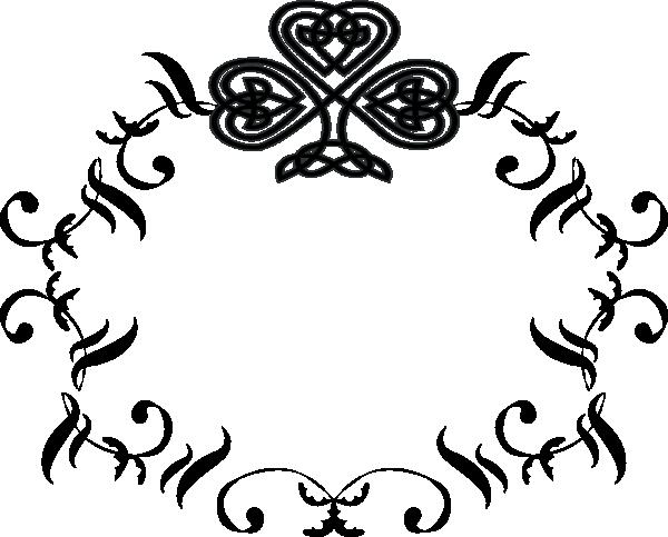 monogram initials clipart