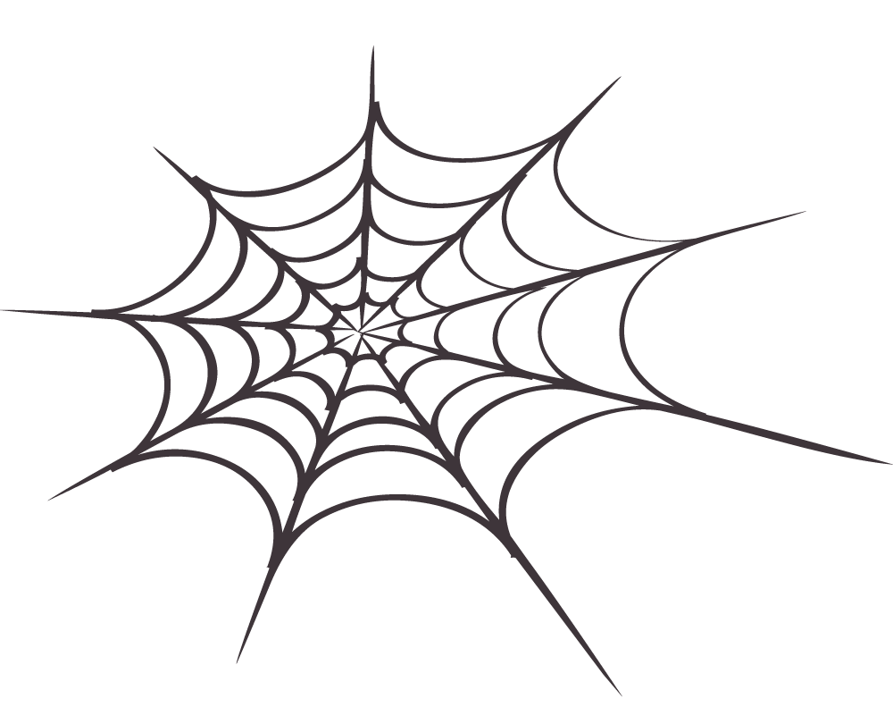 Spider Web Clip Art - Synkee
