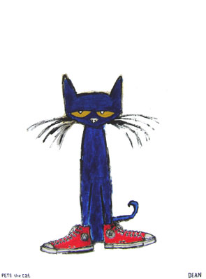Pete The Cat Loves His White Shoes And Pre Schoolers Love Pete The Cat