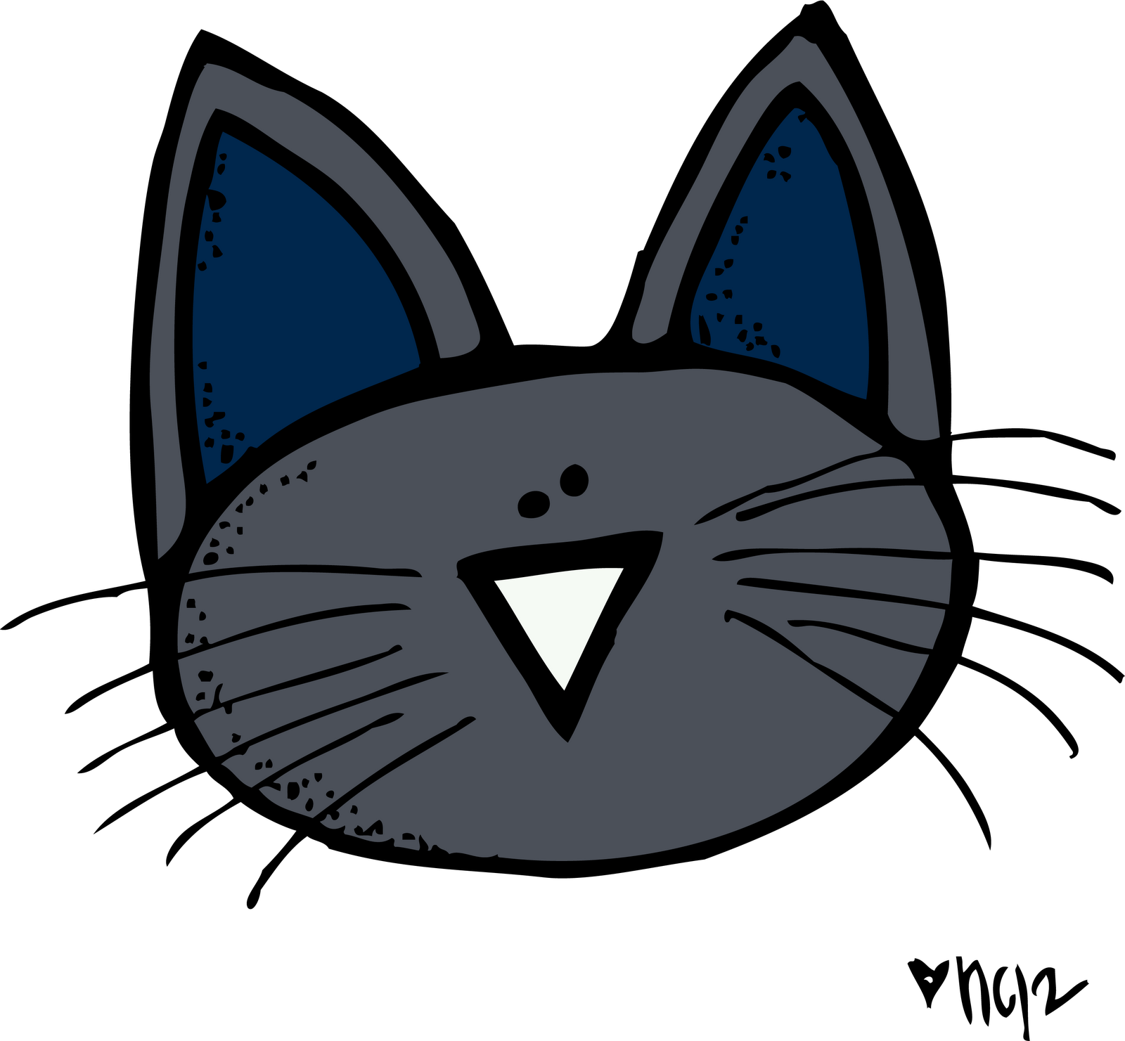 Pete The Cat Free Clipart - Clipart Kid