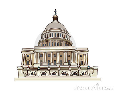 Nationalcongress Usa On A White Background