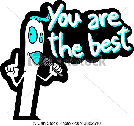 You Are The Best Clipart Vector   You Are The Best
