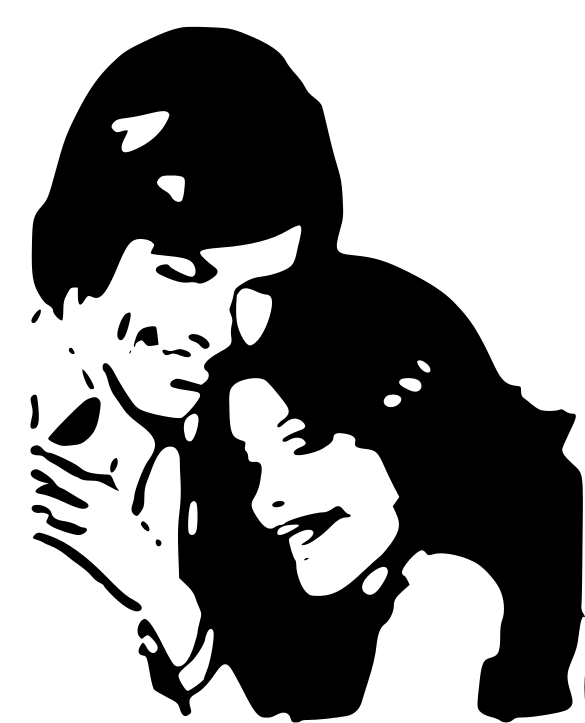 Couple In Love Clipart - Clipart Kid