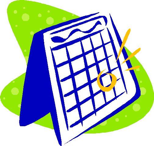 Calendar Clip Art Images : Mark your calendar clipart suggest