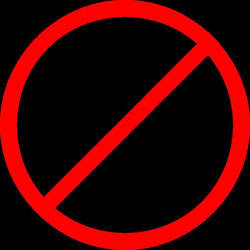 No Guns Clipart - Clipart Kid