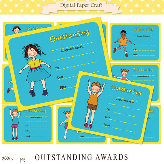 Outstanding Clipart Digital Awards Clipart Outstanding  Instant