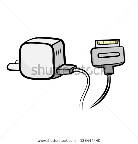 Iphone 5 Chargers Clipart Clipart Suggest