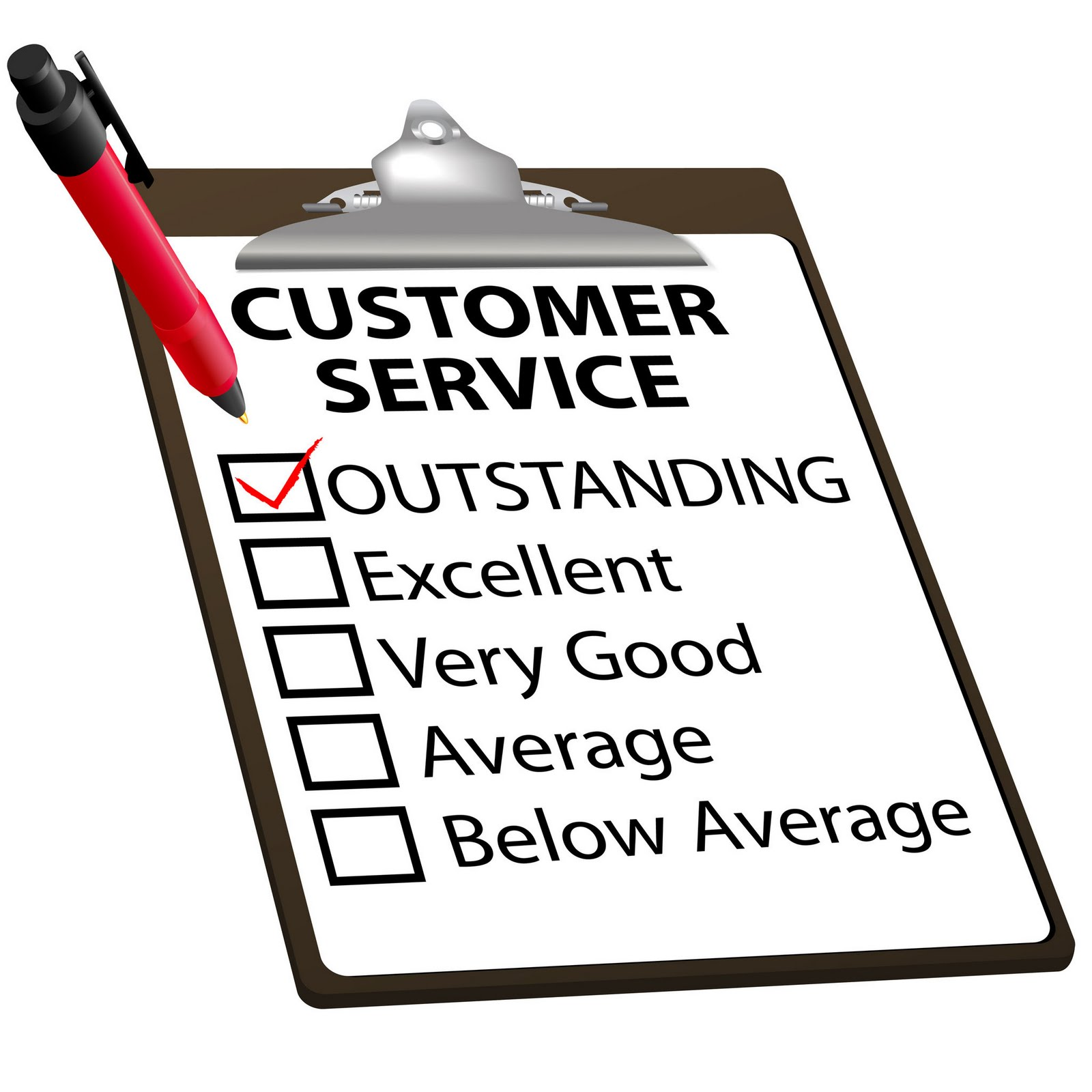 Study  Outstanding Customer Service   More    And More Word Of Mouth
