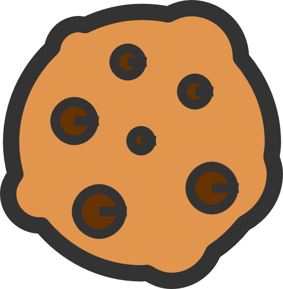 Plate of cookies cartoon