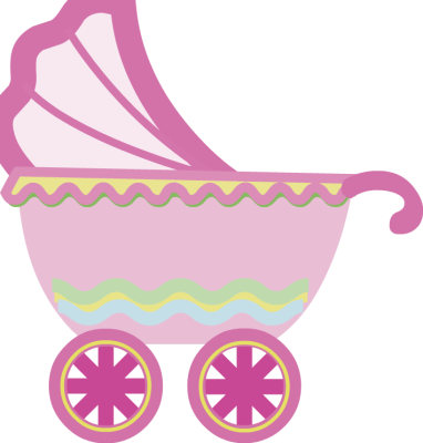 Clip Art Baby Carriage Clipart baby stroller clipart kid usage to insert pink clip art on your photo just