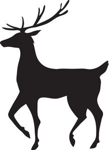 Filigree Reindeer Clipart - Clipart Kid