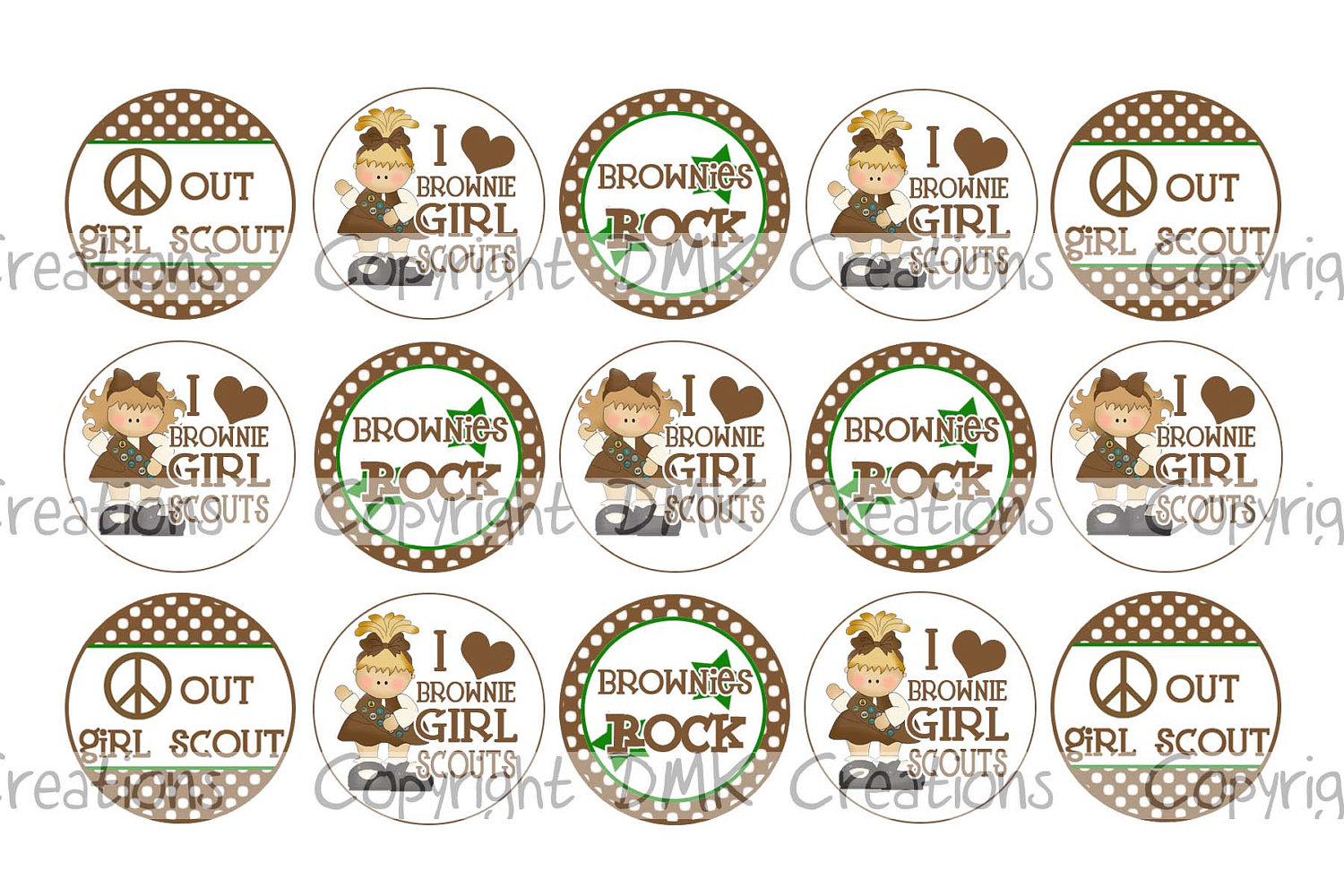 Brownie Girl Scout Clip Art – Clipart Free Download