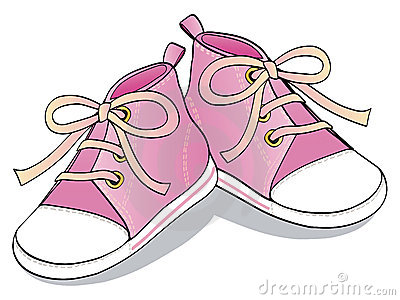 Pink Shoes Clipart - C...
