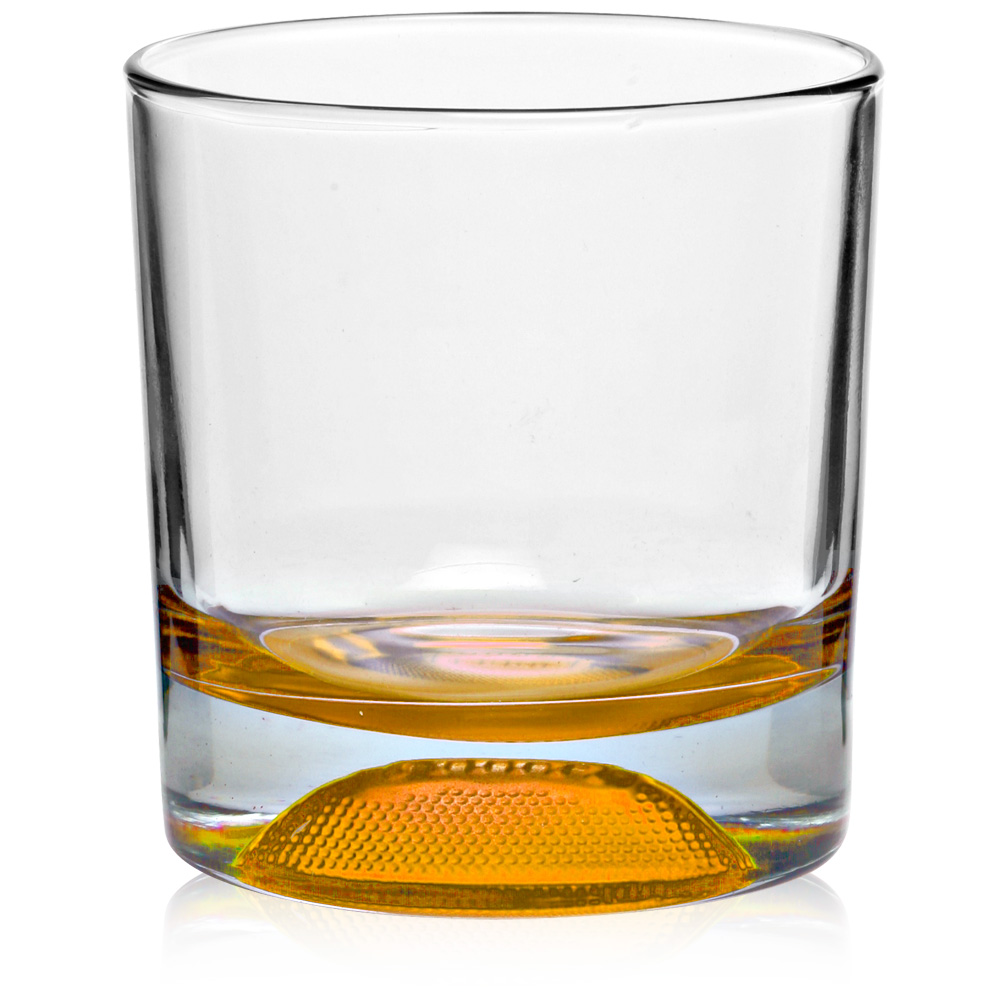 Clipart Of A Bottle Of Whiskey By A Shot Glass In A Bar Over White
