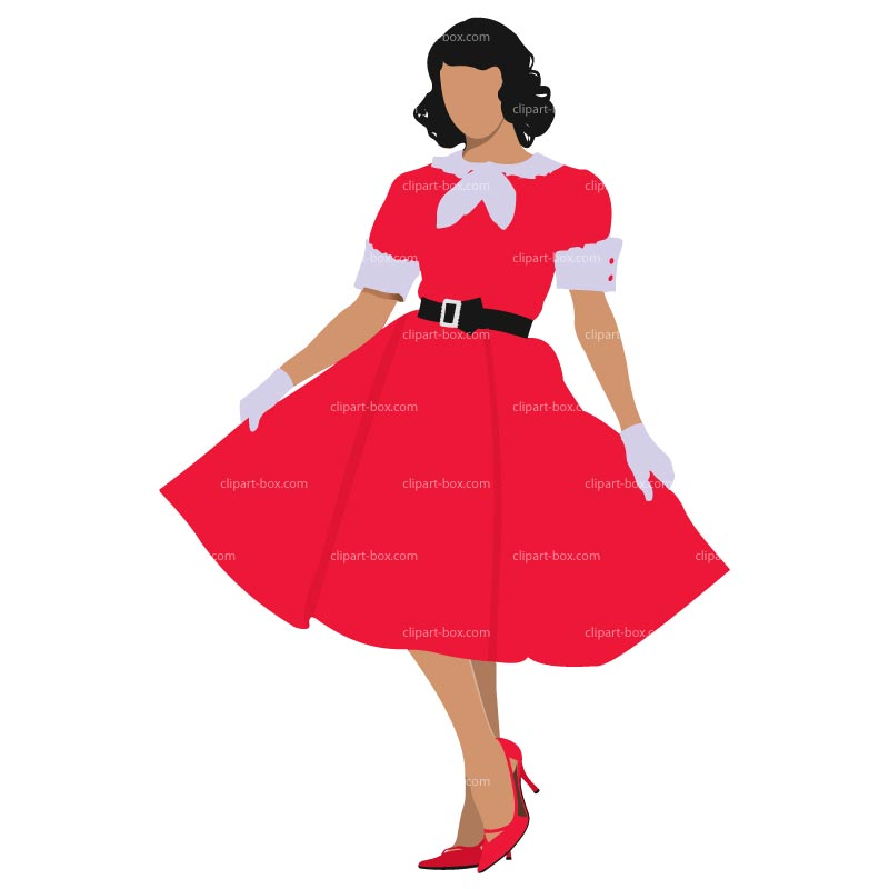 girl in dress clipart clipart suggest