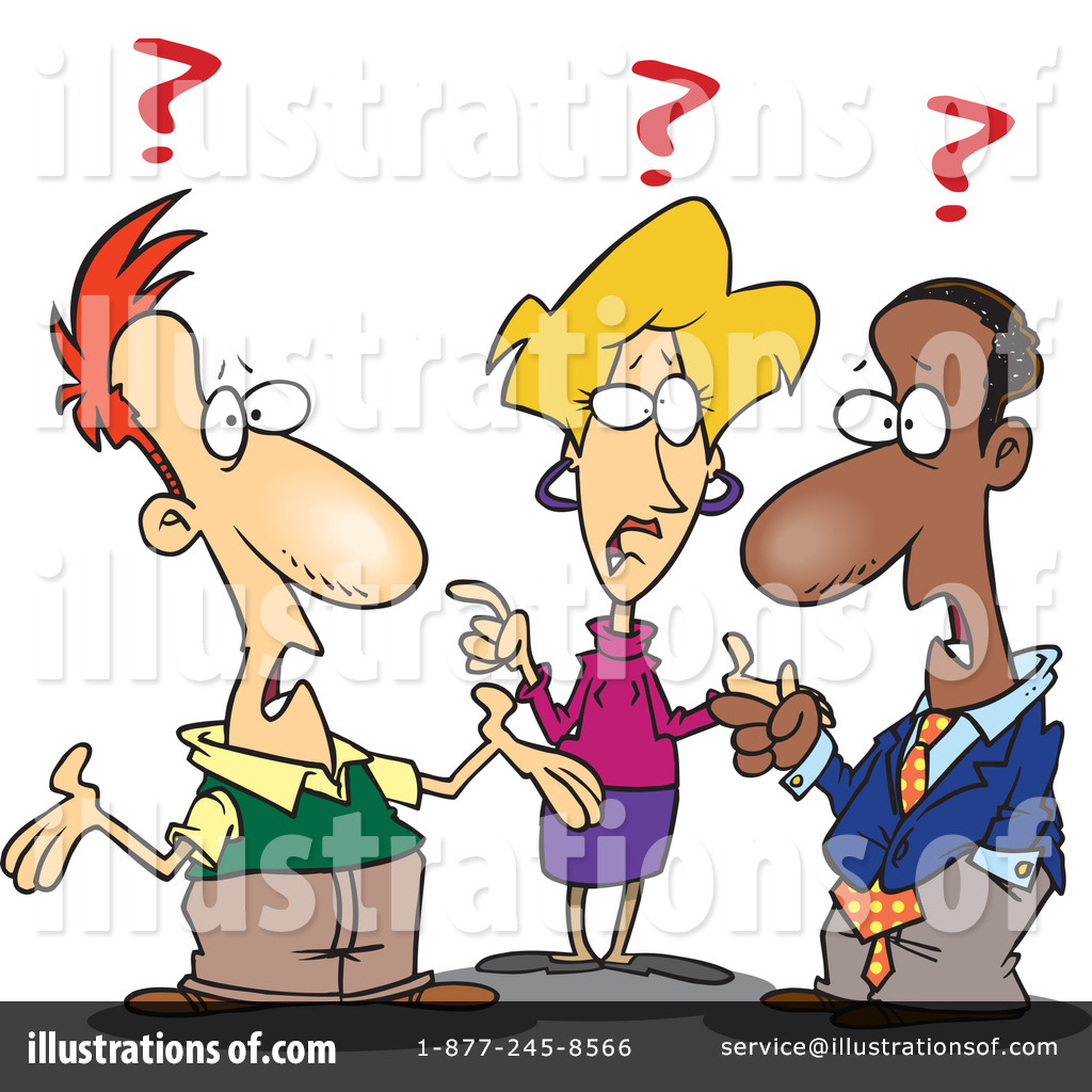 Confusion Clipart  440365   Illustration By Ron Leishman