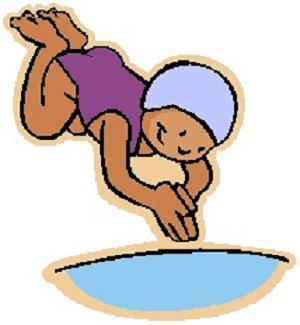 Clip Art Swim Clip Art swim and dive team clipart kid girl swimming panda free images
