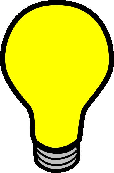Light Bulb Clip Art At Clker Com Vector Clip Art Online Royalty