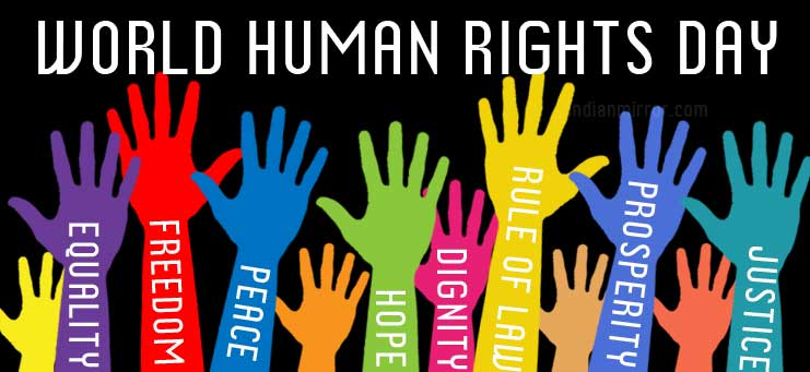 Monday December 10th Is International Human Rights Day And We Sure