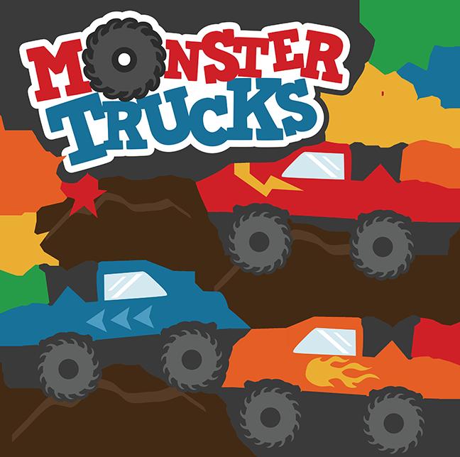 Monster Truck Free Clipart - Clipart Kid