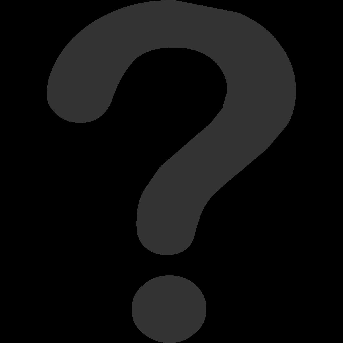 Cute Question Mark Clipart - Clipart Suggest