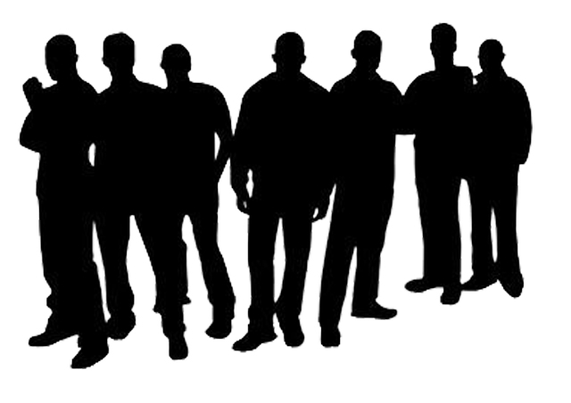 Silhouette Of Men   Cliparts Co