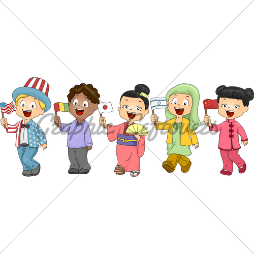 United Nations Kids   Gl Stock Images