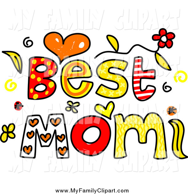 Clip Art Of Whimsy Best Mom Words By Prawny    811